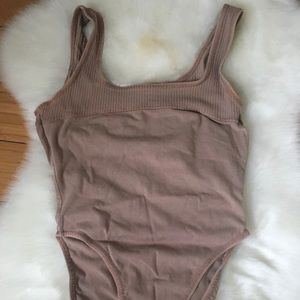 Brown Danskin leotard